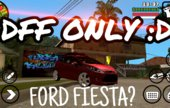 Ford Fiesta dff only