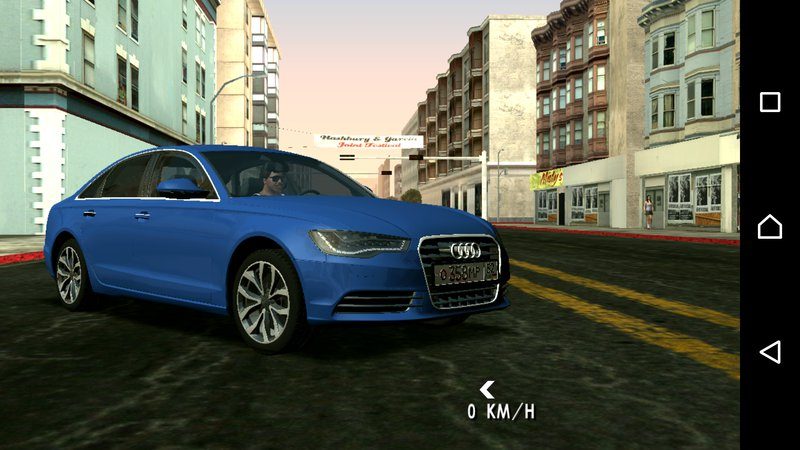 Gta San Andreas Audi A6 2012 No Txd For Android Mod