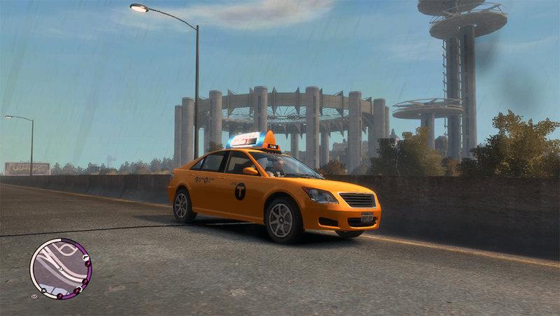 GTA 4 Karin Asterope LC Taxi Mod - GTAinside.com