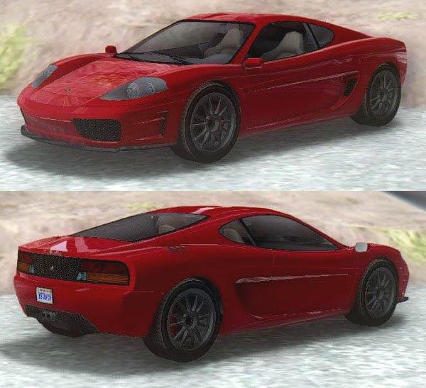GTA San Andreas GTA IV Grotti Turismo Classic 2 Mod ...
