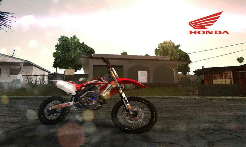 Gta San Andreas Honda Crf 450 2012 Mod Gtainsidecom