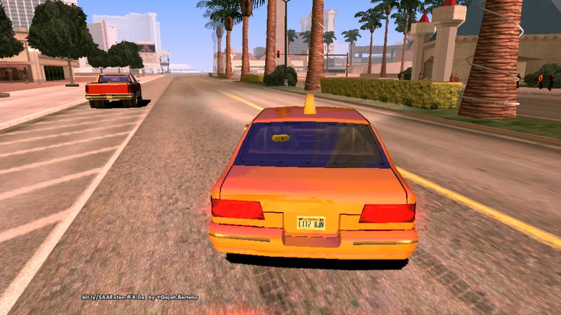 GTA San Andreas Ultra Realistic Graphic For Android Mod
