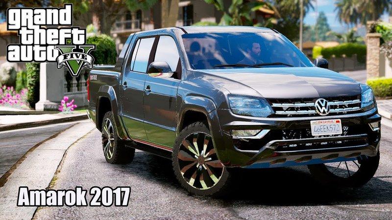 GTA 5 Volkswagen Amarok 2017 Mod - GTAinside com