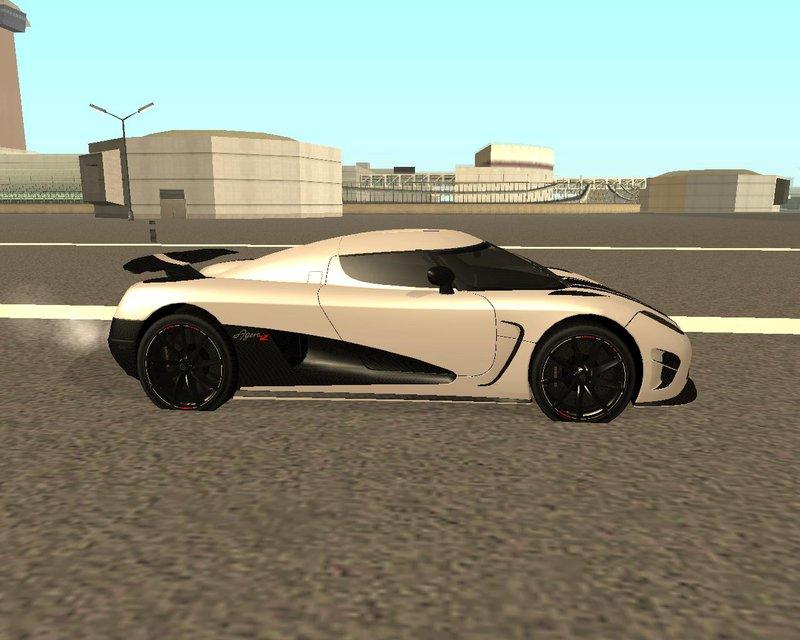 GTA San Andreas Koenigsegg Agera R Mod - GTAinside.com
