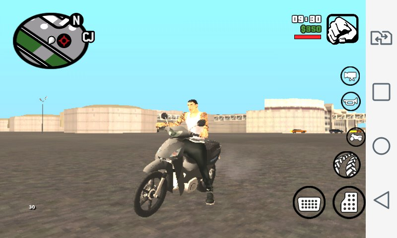 GTA San Andreas Bike Pack Brasilian For Android Mod
