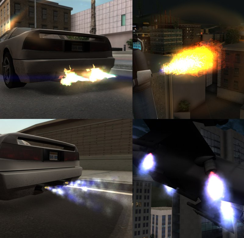 GTA San Andreas Project Overhaul - Particles and Effects Final Mod