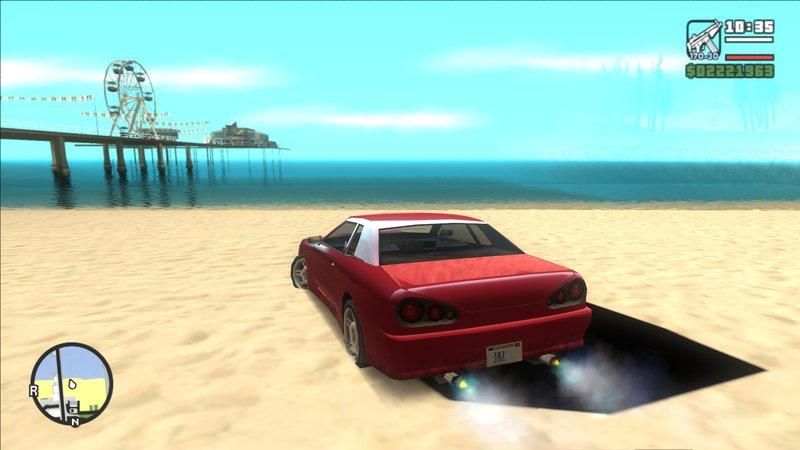 GTA San Andreas Graphics Reborn 2018 Mod - GTAinside com