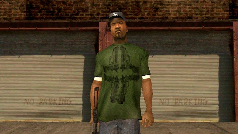 GTA San Andreas HD Characters Sweet Ryder Big Smoke Mod - GTAinside com
