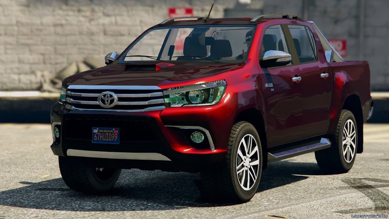Gta 5 2017 Toyota Hilux Revo Mod Gtainside Com