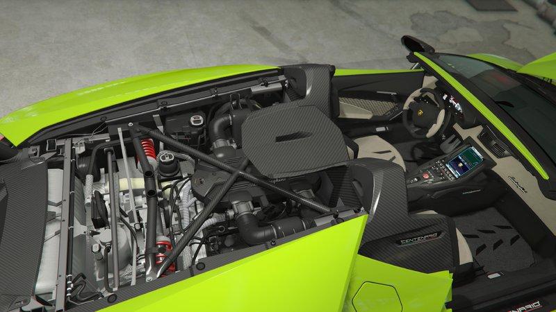 Gta 5 Lamborghini Centenario Roadster Remastered Mod Gtainside Com