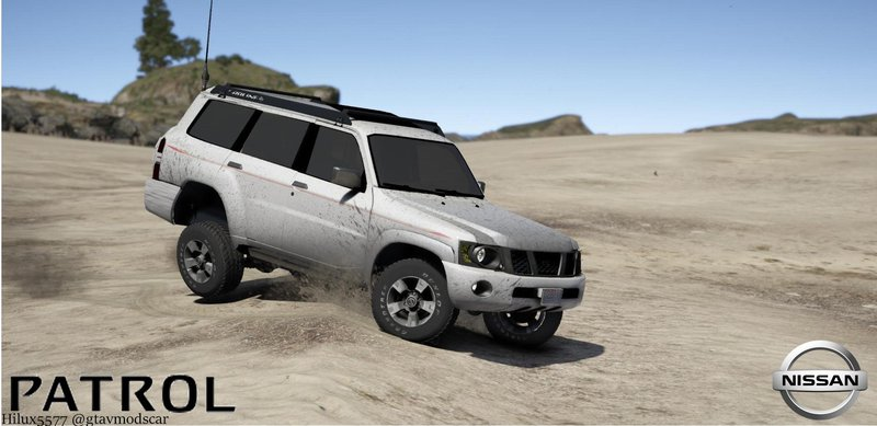 GTA 5 Nissan Patrol Super Safari VTC Y61 4800 2016 4-door