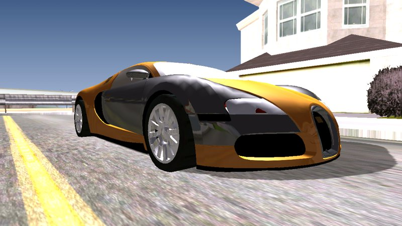 gta san andreas bugatti veyron for android dff only mod