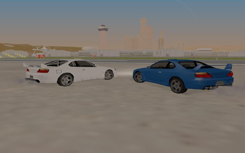 GTA San Andreas Nissan Silvia S15 Tunable (SA Style/Low Poly