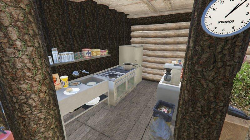 GTA 5 Mount Gordo Log House [Menyoo] V1 2 Mod - GTAinside com
