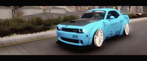 2015 Dodge Challenger SRT Hellcat Liberty Walk LB Performance