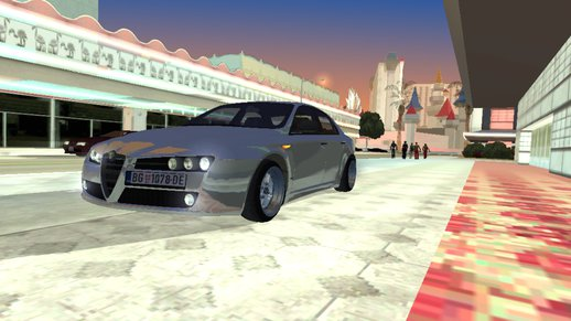 Alfa Romeo GTA San Andreas Android Dff Only