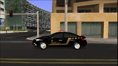 Renault Fluence of Federal Police of Brazil