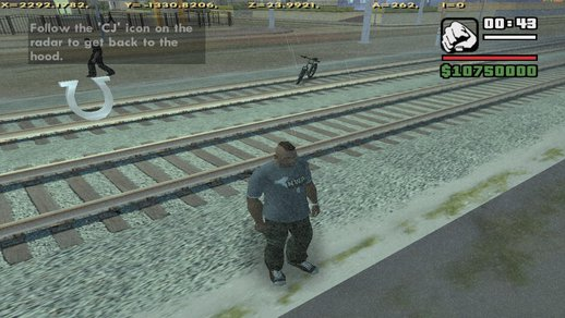 San Andreas Opened Up and Maxxed Skills