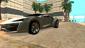 Lykan Hypersport 2013 for Android Dff Only