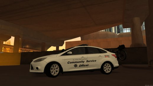 2013 Ford Focus Community Service Officer