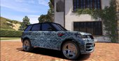 Supreme & Pattern Livery for Range Rover Sport StarTech 2016