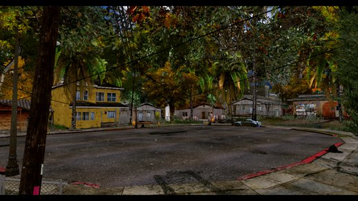 Grove Street Full Of Trees