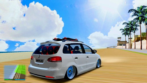VW Spacefox Na Ar Com Som