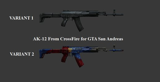 CrossFire AK-12 Assault Rifle