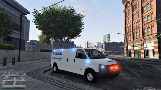 2016 Chevy Express 3500 Coroner-Prisoner Transport - Undercover [ELS] [UNLOCKED]
