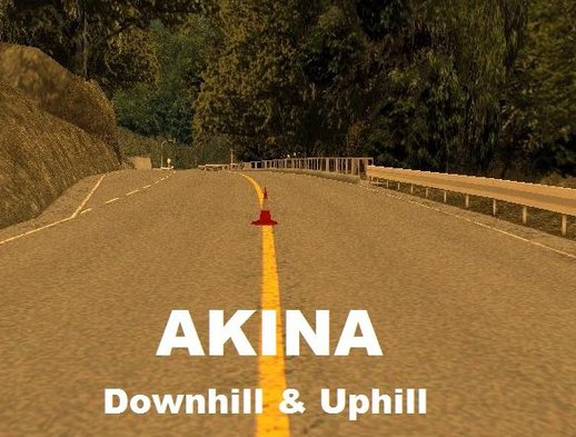 Akina Downhill And Uphill #2 DYOM
