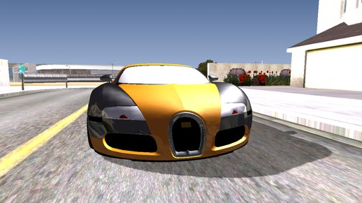 Bugatti Veyron for Android Dff Only