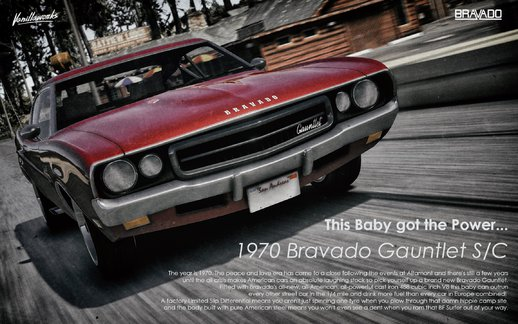 Bravado Gauntlet Classic [Add-On | Tuning | Liveries | Template]