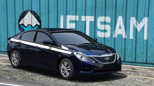 Hyundai Sonata 2014 damaged by iiletcher
