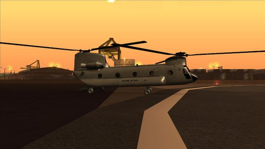 CH-47 Chinook Philippine Air Force