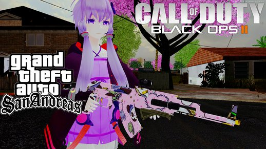 Pack Of Weapons Ak47 Camo (Black Ops II )