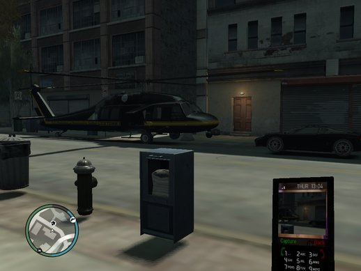 GTA 4 100% Savegame with Helicopter in Parking Lot