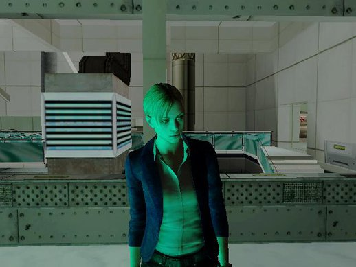 Jill Valentine Casual (Claire Resident Evil Revelations 2)