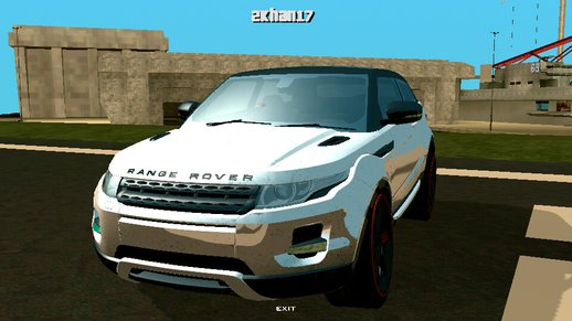 Range Rover Land Rover Evoque For Android (No Nedeed Pc)