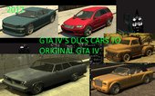 GTA IV DLCs cars to ADD