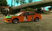 Mitsubishi Lancer Evo 8 High School DxD Itasha