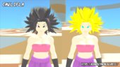 Caulifla Base and SSJ Skin