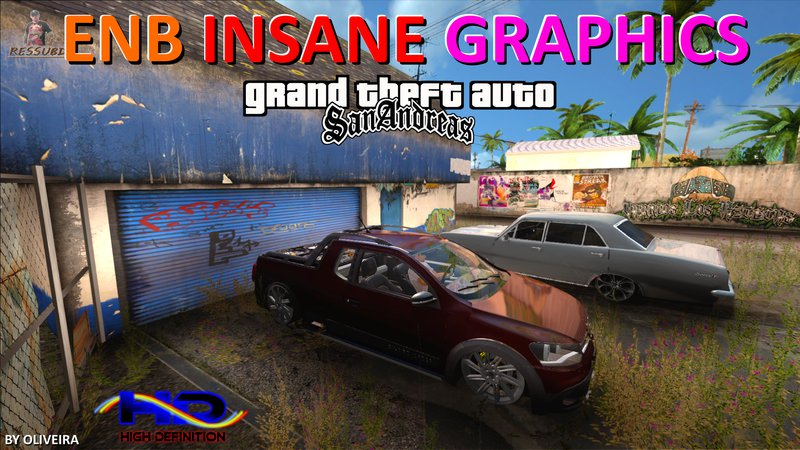 GTA San Andreas INSANE GRAPHICS ENB v313 Mod - GTAinside com