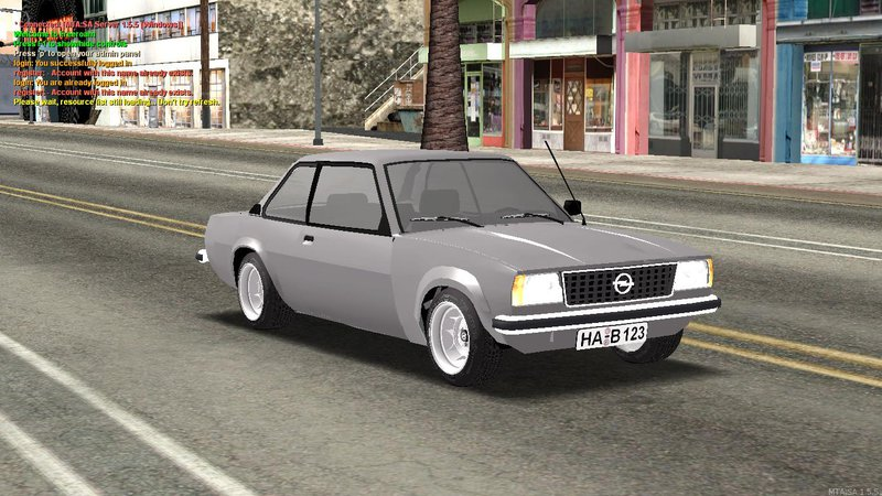 gta san andreas opel ascona b mod. Black Bedroom Furniture Sets. Home Design Ideas