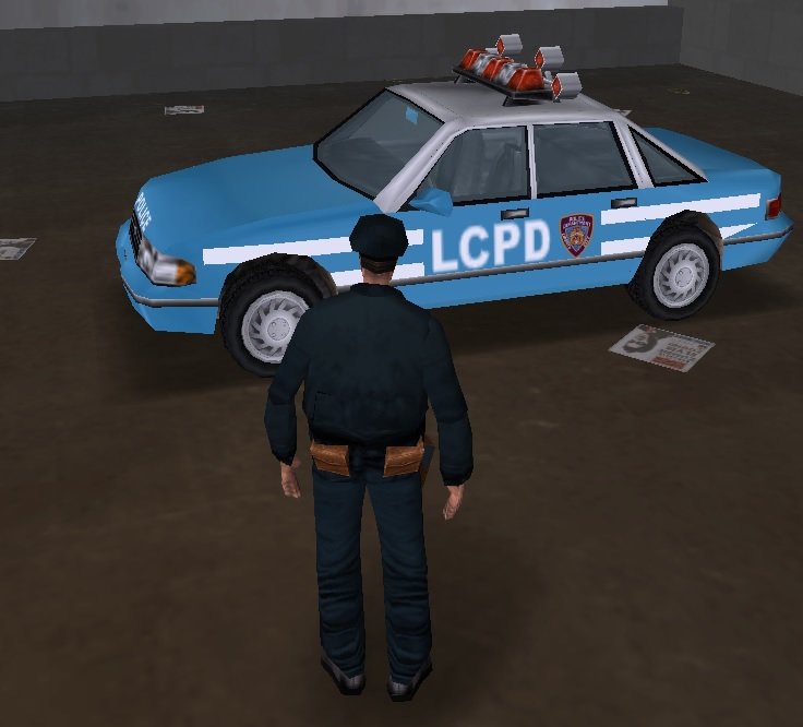 GTA 3 Beta Police Car Mod - GTAinside com