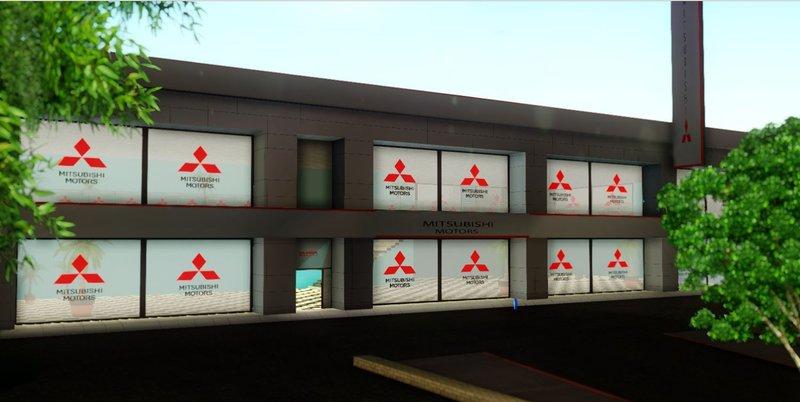GTA San Andreas Mitsubishi Dealership Mod GTAinsidecom - Mitsubishi dealer ship