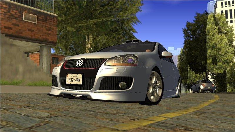 Gta San Andreas Vw Golf Mk5 Gti Tunable V2 Mod Gtainside Com