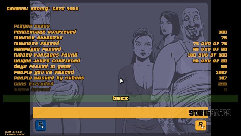 GTA 3 GTA III 100 % Savegame Mod - GTAinside com