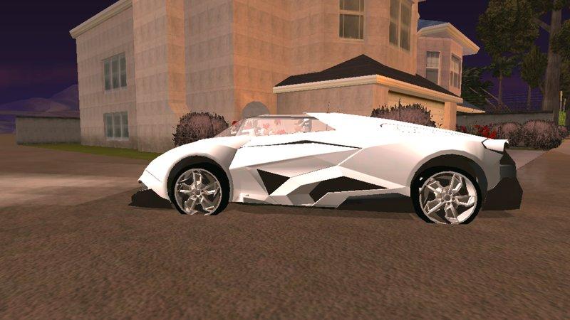 Gta San Andreas Lamborghini Egoista For Android Dff Only Mod