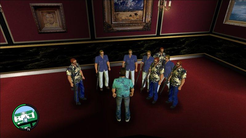 GTA Vice City Vice City Bodyguards Mod - GTAinside com