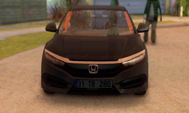 GTA San Andreas Honda Civic FC5 [Low Poly] Mod - GTAinside com